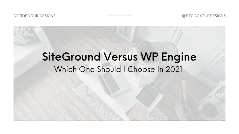 SiteGround Vs. WP Engine – Which One Should I Choose In 2021